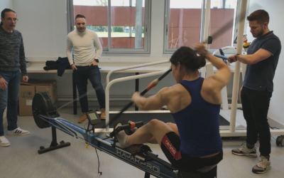 Tests VO2 et lactates à l'université Poitiers